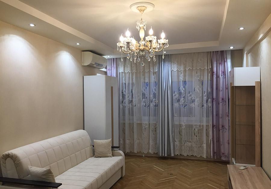 Косметический ремонт квартиры и капитальный ремонт санузла, Большая Тульская